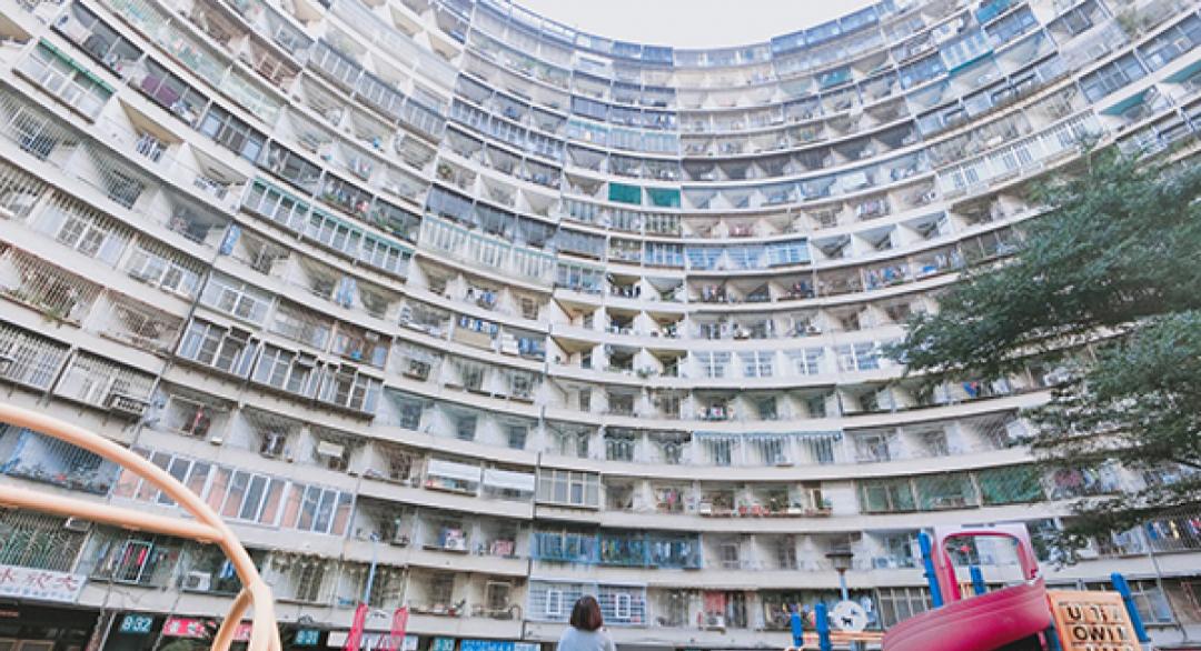 香港怪獸大廈台灣也有!超廣角密集屋拍出魚眼風美照 -- MOOK景點家