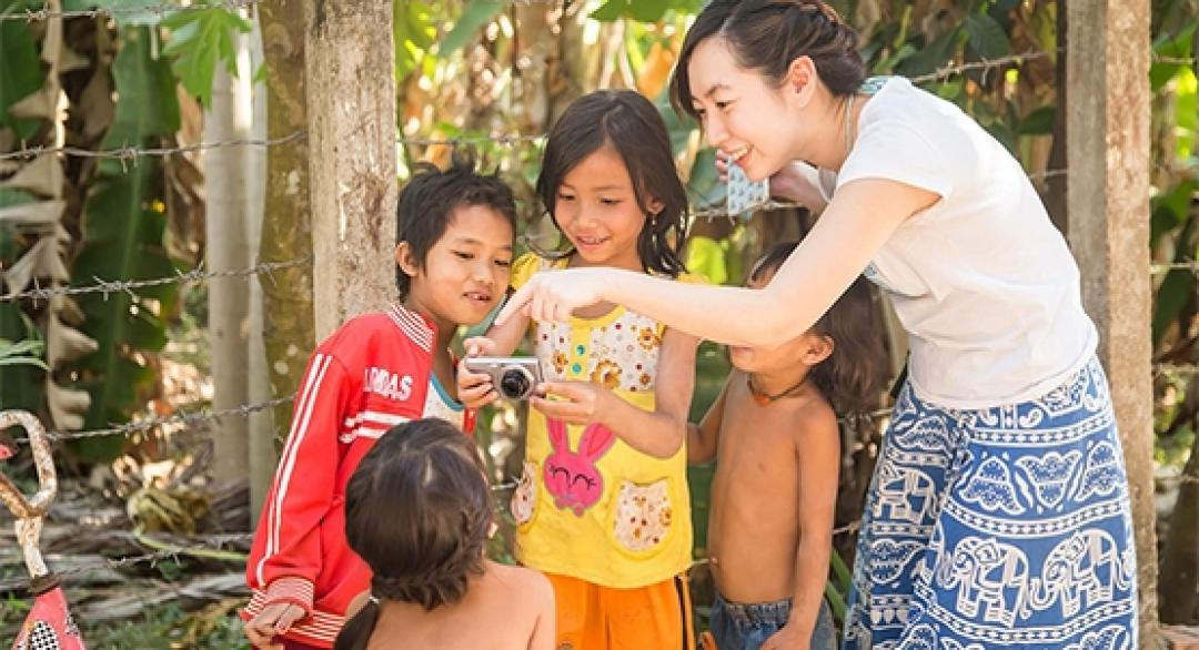 張維:給柬埔寨孩子一台舊相機,翻轉了我看世界的角度