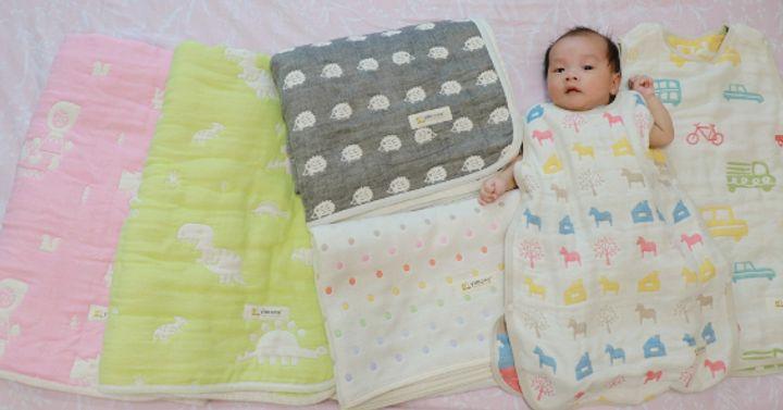艾比媽媽 X 日本製 【Yimono】三河木棉六層紗織物團購